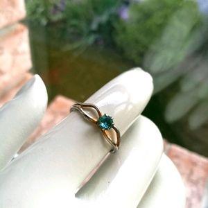 FREE Blue Rhinestone Costume Ring